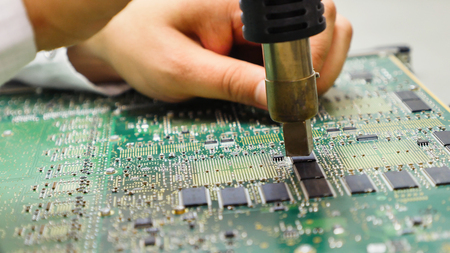holding ic mainboard for repair board