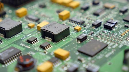 Electronic circuit board Banco de Imagens - 110517871