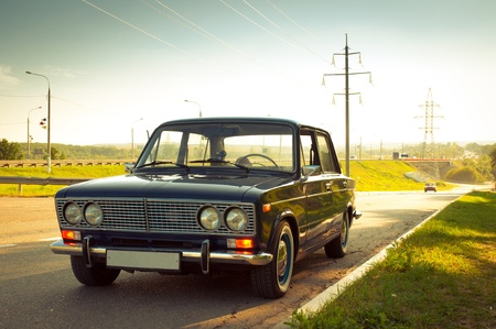 Old Soviet car Lada 1600 Stock Photo - 11816770