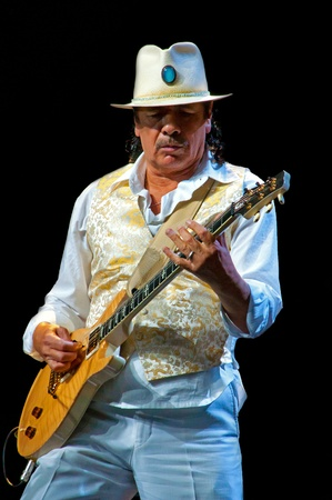 carlos: Carlos Santana concert Crocus City Hall in Moscow.  July 17, 2011