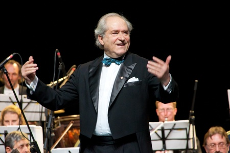 maestro: Peter Guth and Strauss Festival Orchestra Vienna in concert Crocus City Hall.  Moscow - November 17, 2010 Editorial