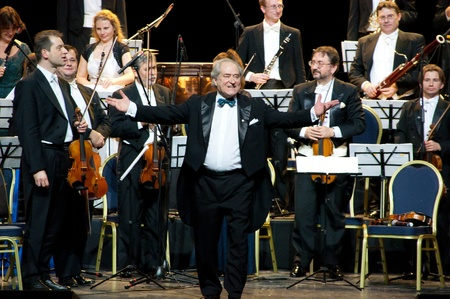 Peter Guth and Strauss Festival Orchestra Vienna in concert Crocus City Hall.  Moscow - November 17, 2010