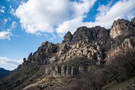 Demergy mountain range Autonomous Republic of Crimea