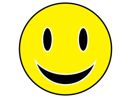 face to face: smiley face