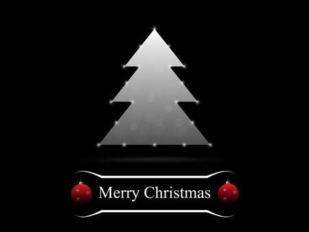 dcor: Merry Christmas tree background