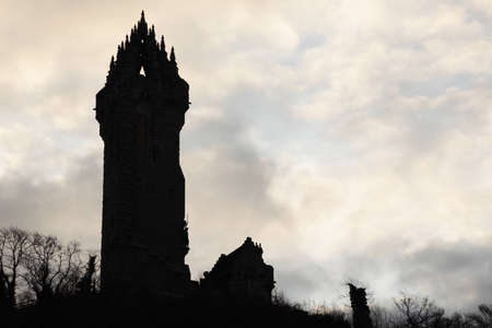 wallace: Wallace monument silhouette