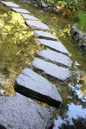 Stepping stones Stock Photo - 8868433