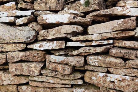 cotswold: Cotswold muro di pietra di sfondo Archivio Fotografico