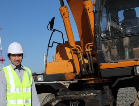 operator of a excavator Stock Photo - 13920511