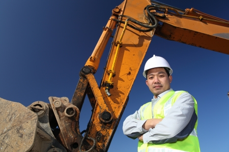 operator of a excavator Stock Photo - 13920514