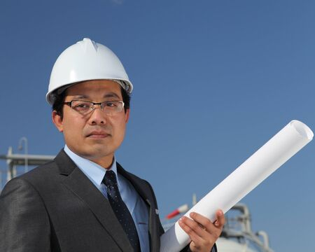 engineer of oil refinery Stock Photo - 13920278