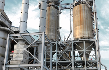 industrial oil refinery facility Stock Photo - 14144323