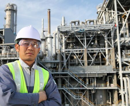 engineer of oil refinery Stock Photo - 14050511