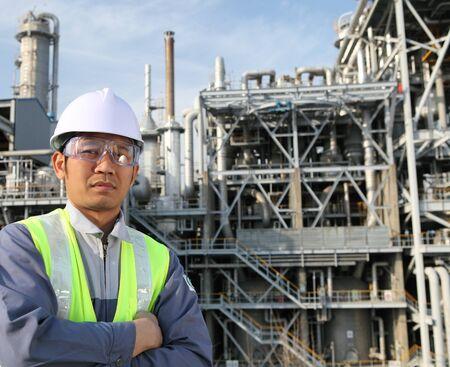 ingeniero: ingeniero de refiner�a de petr�leo