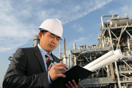 chemical industrial engineer Standard-Bild
