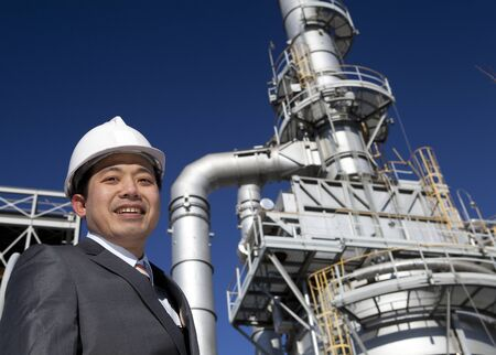 engineer of oil refinery Stock Photo - 15290537