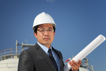 businees: industrial engineer Stock Photo