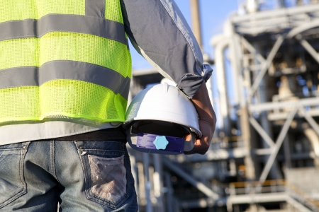 construction worker on location site Stock Photo - 16521171