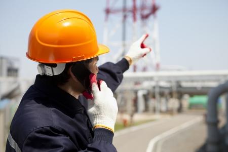 refinería de petróleo: Ingeniero industrial químico