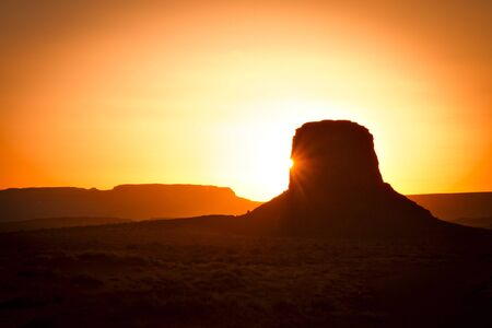 Monument Valley Standard-Bild
