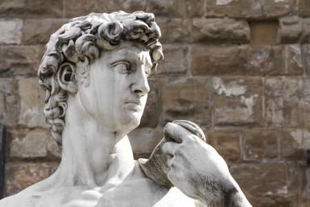 florence: Michelangelo s David in Florence Stock Photo
