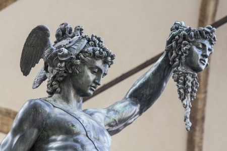 Donatello s David in Florenz Standard-Bild - 17530919