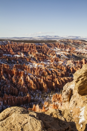 Bryce Canyon during winter