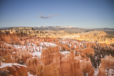 bryce: Bryce Canyon during winter