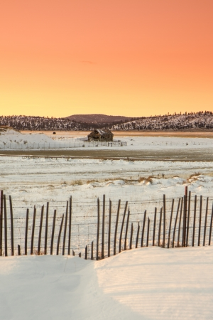 Winter Landscape in Utah