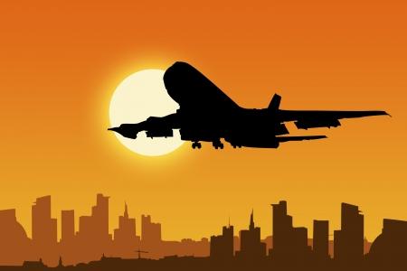 Flughafen-Panel