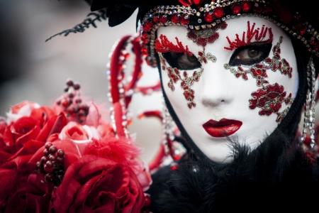 Karneval in Venedig Standard-Bild