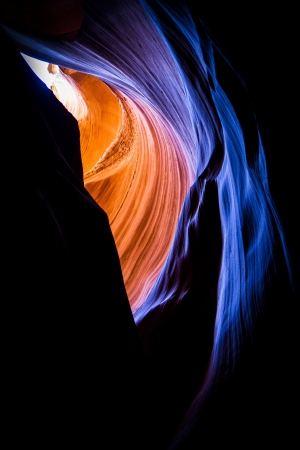 Antelope Canyon Stock Photo
