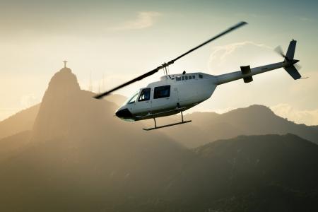Rio de Janeiro Helicopter Standard-Bild - 17971660