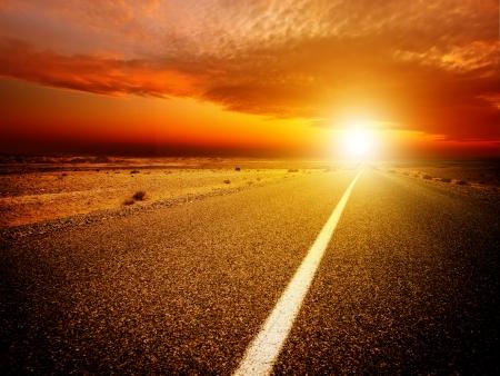 Sunset Road photo