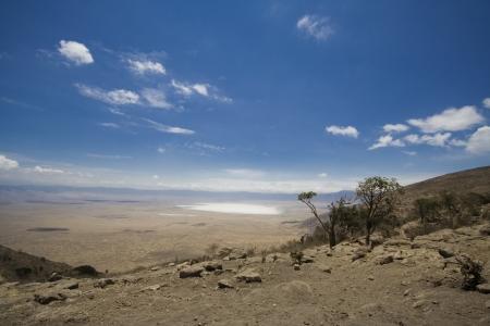 Ngorongoro crater Africa Standard-Bild