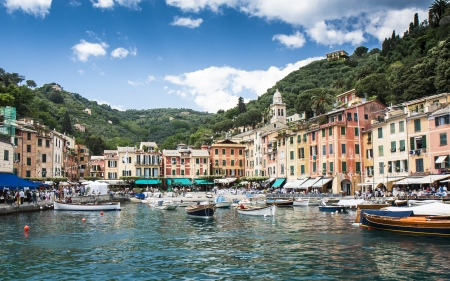 Portofino Italy Mediterranean Editorial