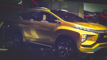 HO CHI MINH  VIETNAM, 04 AUG 2017 - Suzuki MX Concept car on display at Vietnam motor Show 2017