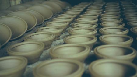Bowls Pottery Stok Fotoğraf