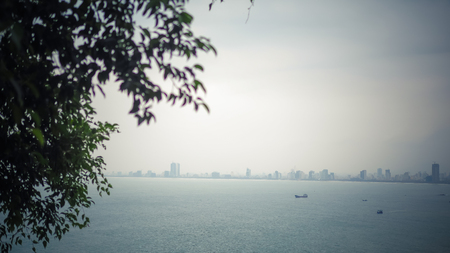 Skyline Ocean View Stok Fotoğraf