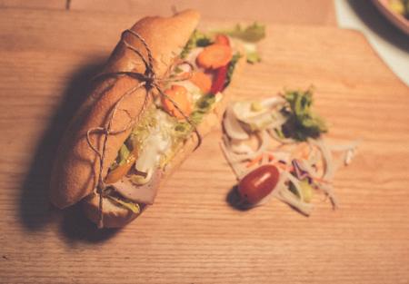 Vietnamese style Bread called Banh Mi
