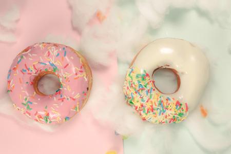 Sweet Doughnut Stok Fotoğraf