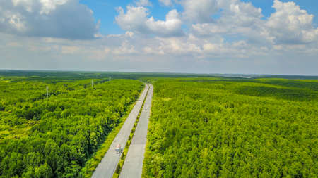 Can Gio mangrove forest in Ho Chi Minh city, Vietnam