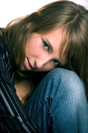 Shy Beauty Stock Photo - 2946715