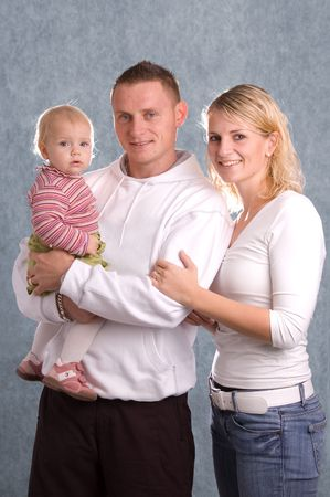 Happy Family Stock Photo - 2986130