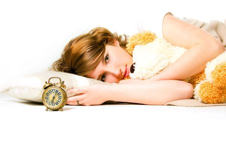 Good night beauty Stock Photo - 3055271