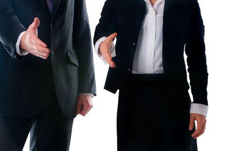 Handshake offer photo