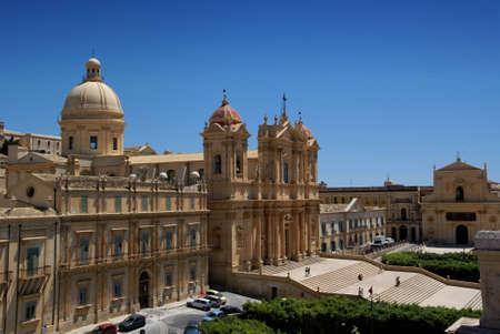 particolare: Vedi citt� barocca di Noto (Patrimonio Mondiale), in Sicilia (Italia). In particolare, la Cattedrale.