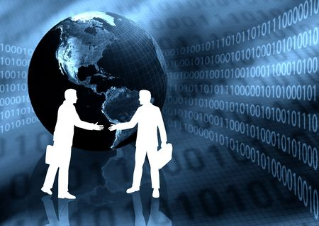 web portal: Virtual Business Handshake