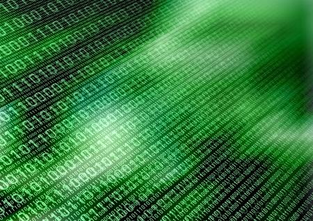 Binary data transfer concept background Standard-Bild