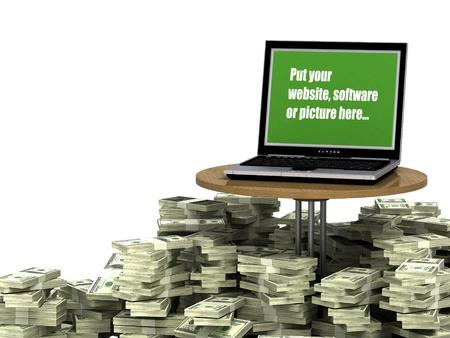 Money Maker Program Standard-Bild